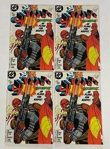 SUPERMAN 4 Lot 1ST BLOODSPORT Suicide Squad BLM Black Power VF/NM 9.0 to NM 9.4