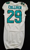 #29 Chris Culliver of Miami Dolphins NFL Locker Room Game Issued Jersey
