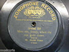 78 rpm MR HECTOR GRANT meet me jenny when the sun goes down / if those lips