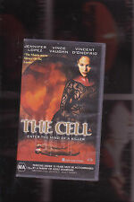 THE CELL (new and sealed vhs) SCI FI CLASSIC<<<J LO>>>