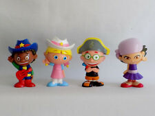 LITTLE EINSTEINS FIGURES  ~ June Quincy Leo Annie ~ GREAT! Figures fit in rocket