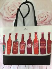 Kate Spade Hot Sauce Remmi Extra Spicy Tote Bag Coated Canvas Wkru5475