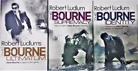 Jason Bourne Series Robert Ludlum Collection 3 Books Bundle,Supremacy,Identity