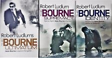 Jason Bourne Series Robert Ludlum Collection 3 Books Bundle,Supremacy,Identity