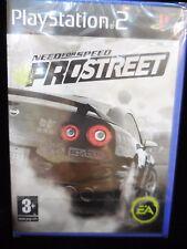 Need for Speed ProStreet  para playstation 2 Nuevo y precintado
