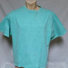 VTG Guess Jeans USA T Shirt Spell Out 80's ASAP Rocky 90's Sport Green Large