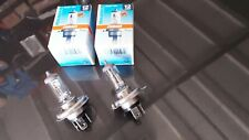 2 AMPOULES DE PHARE OSRAM P43T  MODÈLE H4  / 12v  35W  POUR AUTOS / MOTOS...