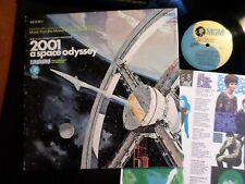 2001 - A Space Odyssey MINT LP 1971 Kubrick Richard Johann Strauss Gyorgy Ligeti