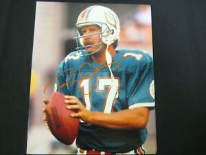"""RON JAWORSKI """"JAWS"""" DOLPHINS, CHIEFS, EAGLES LEGEND SIGNED 8X10 COA FREE SHIP"""