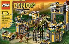 lego DINO set number 5887, pre-owned, Dino Defense HQ, 100% Complete.