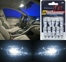 Led 5050 Light White 5000K 194 Ten Bulbs License Plate Replace Stock Oe Smd Jdm(Fits: Neon)