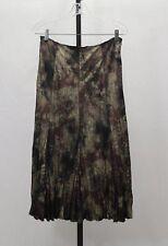 Alberto Makali Crinkle Flared Skirt Size 8