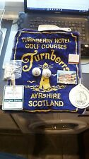 Nice set of memorabilia from Turnberry golf course and Greenbrier golf courseUSA