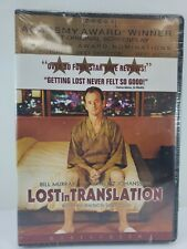 Lost in Translation (Dvd, 2004, Widescreen) *Factory Sealed*