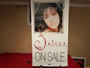 "Selena Quintanilla ""Dreaming of You' - Original 1995 ""Promotional poster"" - RARE"