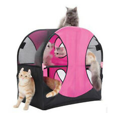 Hot Puppy Pet Cat Tent Play Collapsible Dog Kennel Cat Bed House Foldabl Camping