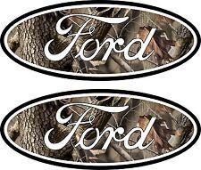 2 Camouflage Emblem Decals Stickers 04-11 Ranger F150 F250 F350 4x4 Camo Sd