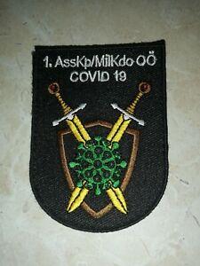 ÖBH Bundesheer Stoffabzeichen Cov19