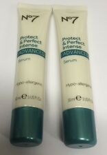 no7 protect and perfect  Intense Advanced Serum Hypoallergenic  30ml (NO BOX) X2