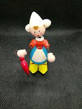 Erzgebirge geschnitzte kleine Holländerin Wackelfigur Little Dutch Girl 8 cm RAR