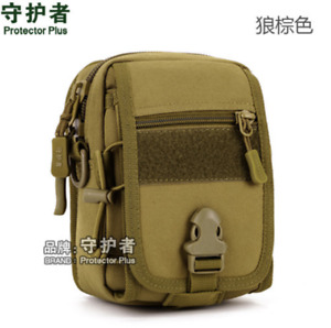 Military Tactical Bag Nylon Waterproof Molle Pouch Running Package for Climbing