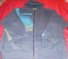 MENS ADIDAS ATHLETIC, LEISURE WEAR MID-WEIGHT L/S HOODIE SWEAT PULLOVER Sz M