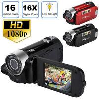 1080P HD Camcorder Digital Video Camera TFT LCD 24MP 16x Zoom DV AV Night Vision