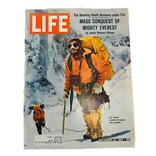 Life Sept 20,1963 Us Team Everest Loch Ness Monster Streisand Vintage 60s Ads