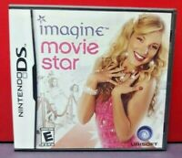 Imagine Movie Star - Nintendo DS DS Lite 3DS 2DS Game Complete + Tested