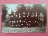 CPA - PHOTO WW1 14-18 - N°7 Groupe soldats
