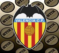 Valencia Logo Color Die Cut Vinyl Sticker Car Window Hood Bumper Decal
