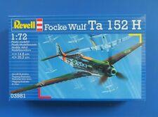 REVELL FOCKE WULF TA 152h Kit Modello Scala 1:72 - 03981