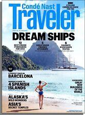 Conde Nast Traveler - 2012, August - Dream Ships, Barcelona, Alaska, Balearics