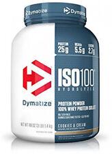 Dymatize ISO 100 Whey Protein Powder With 25g Of Hydrolyzed 100% Whey Isolate,