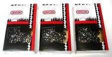 """20"""" Full Chisel Chains (3-Pack) for Echo CS-510EVL CS-550 CS-590    72LGX070G(3)"""