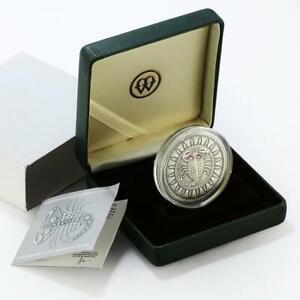 Belarus 20 rubles Zodiac Signs series Scorpio silver coin 2009