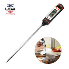 Electronic Meat Thermometer Kitchen Tool Digital Food Probe Oil BBQ Temperature