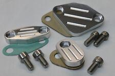 Camaro/Firebird LT1 Billet Aluminum EGR Block Off Plates Kit Set of 3 *CBW-012