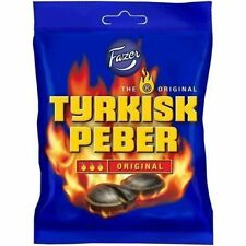 Fazer Tyrkisk Peber Candy 150g 5 oz Hot Salty Licorice Peppery Candy