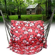 Portable Hammock Hanging Rope Swing Seat Chair Outdoor Garden Tree Porch Patio