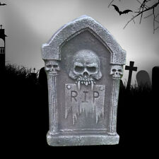 Tombstones Gravestone Outdoor Halloween Decoration Prop Cemetery Haunt 37*23CM