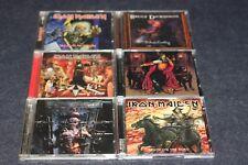LOTTO CD 6 - IRON MAIDEN - BRUCE DICKINSON - METAL- LEGGI DETTAGLIO - E15 - FL