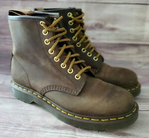 Dr. Martens Womens Boots Size 8 1460 Brown