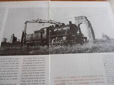 1959 I TRENINI VIAGGIARE ITALIA LINEE SECONDARI ABRUZZO COLLI MONTE BOVA TRENI