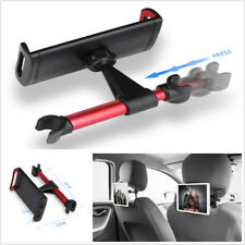 Black & Red Car SUV Back Seat Headrest Mount Holder Stand For iPad Phone Tablet