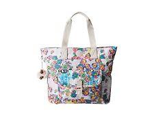 NWT Kipling Tabby Print Tote Bag TM5273 Daisy Dance Furry Monkey $109