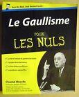 Livre Le Gaullisme pour les nuls /U16