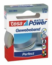 Tesa Tape ® 56341-00033 Woven 2, 75mx19mm Grey Premium Power Adhesive