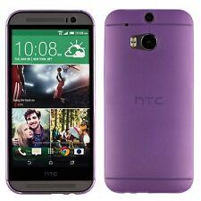 Yemota Pro HTC One M8 Hard Slim Case Schutz Hülle Cover Bumper Tasche Lila