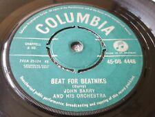 "JOHN BARRY  BEAT FOR BEATNIKS  BIG FELLA    1960  COLUMBIA  7"""